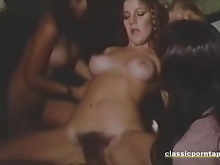 Amazing Vintage Group Fuck Party