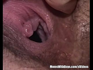 Small Tits Milf Eats Jellies From Pussy